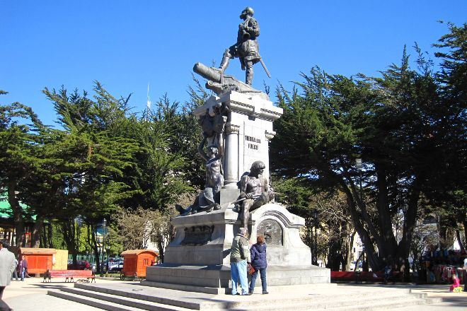 Plaza Munoz Gamero, Punta Arenas, Chile