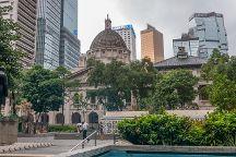 Statue Square, Hong Kong, China