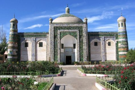 Abakh Hoja Tomb, Kashgar, China