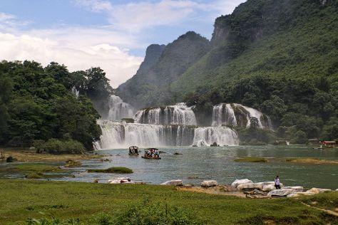Detian Scenic Resort, Daxin County, China