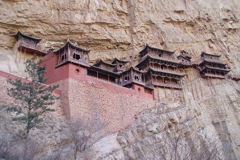 Hengshan Hanging Temple (Xuankong si), Datong, China