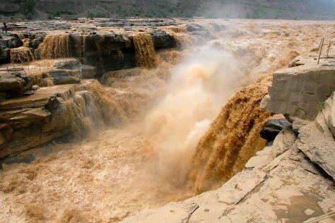 Hukou Waterfall, Ji County, China