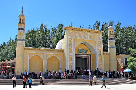 Idkah Mosque, Kashgar, China