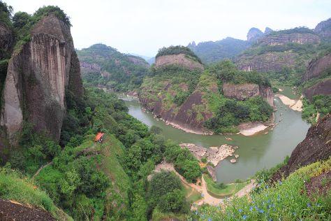 Longhu Mountain, Guixi, China
