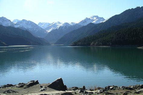 Mt. Tianshan and Tianchi Lake Scenic Resort, Fukang, China