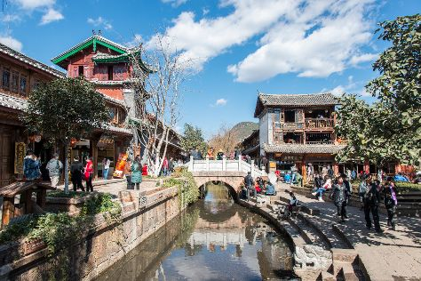 Old Town of Lijiang - China, Lijiang, China