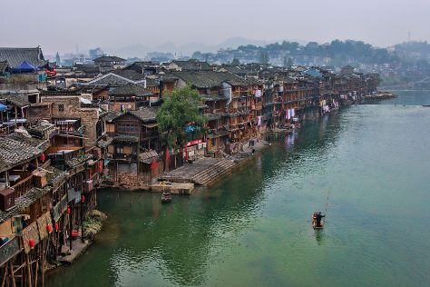 Phoenix Ancient Town, Fenghuang County, China