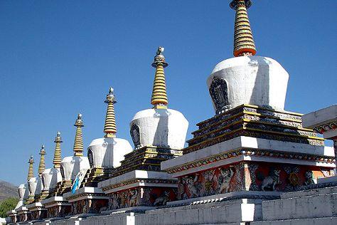 Ta'er Monastery, Huangzhong County, China