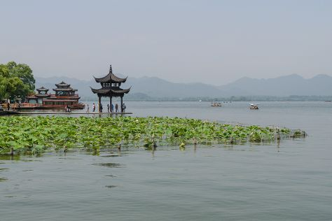 West Lake (Xi Hu), Hangzhou, China