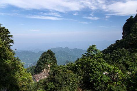Wudang Mountain National Geopark, Danjiangkou, China