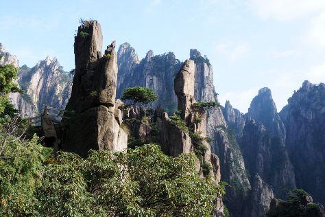 Xihai Great Canyon, Huangshan, China