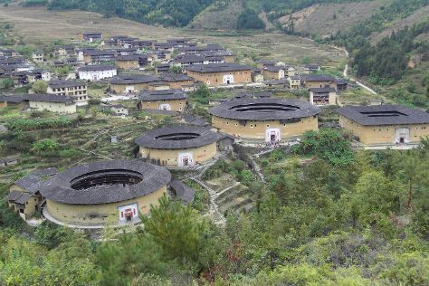 Yongding Earth Building, Yongding County, China