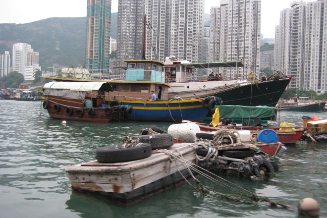 Aberdeen Fishing Village, Hong Kong, China