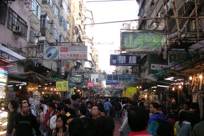 Ap liu Street Market, Hong Kong, China