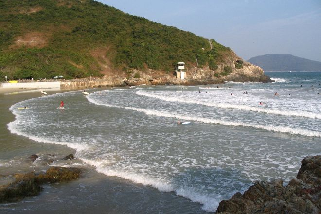 Big Wave Bay Beach, Hong Kong, China