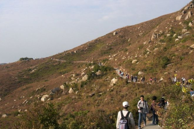Central Hiking Lamma Trail, Hong Kong, China