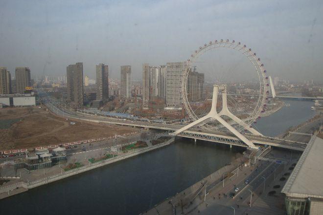 Ferris wheel, Eye of Tianjin, Tianjin, China
