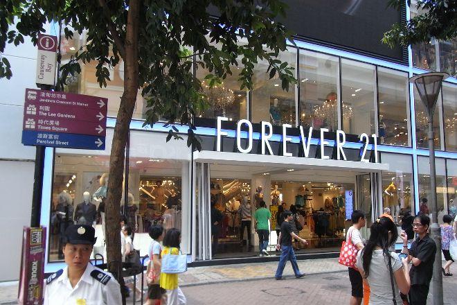 Forever 21, Hong Kong, China