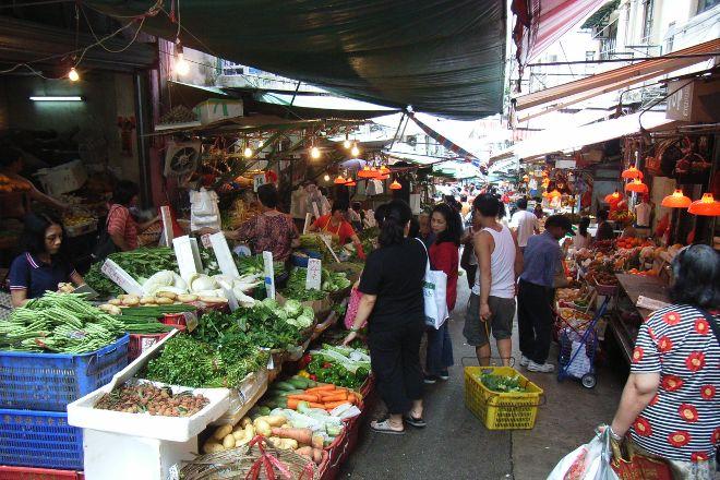Graham Street Market, Hong Kong, China