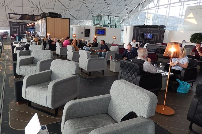 Hong Kong airport lounge and spa, Hong Kong, China
