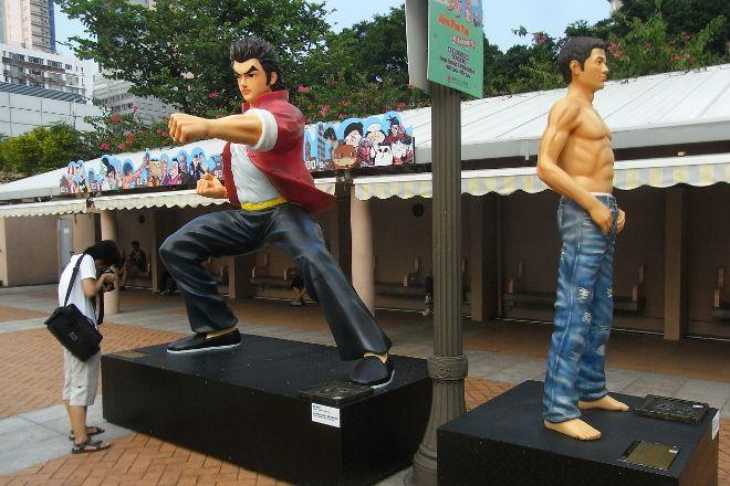 Hong Kong Avenue of Comic Stars, Hong Kong, China