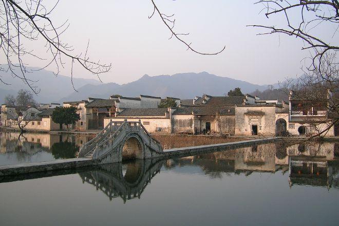 Hongcun Ancient Village, Yi County, China
