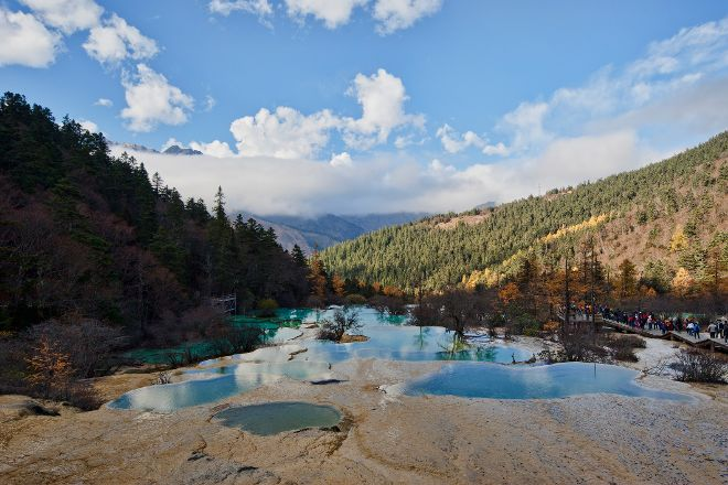 Huanglong Scenic Valley, Songpan County, China