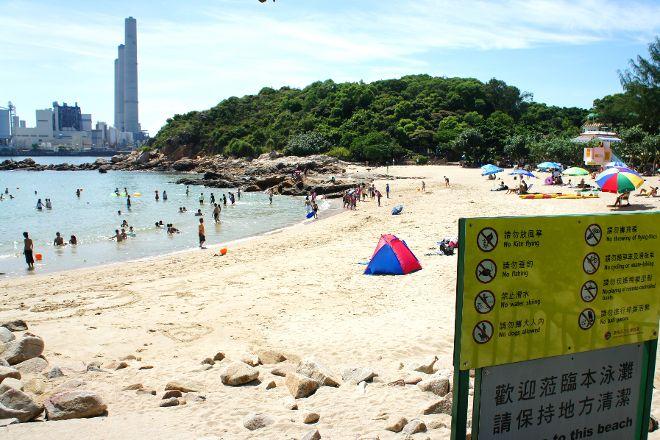 Hung Shing Yeh Beach, Hong Kong, China