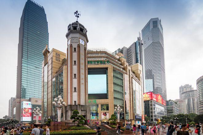 Jiefangbei Square, Chongqing, China