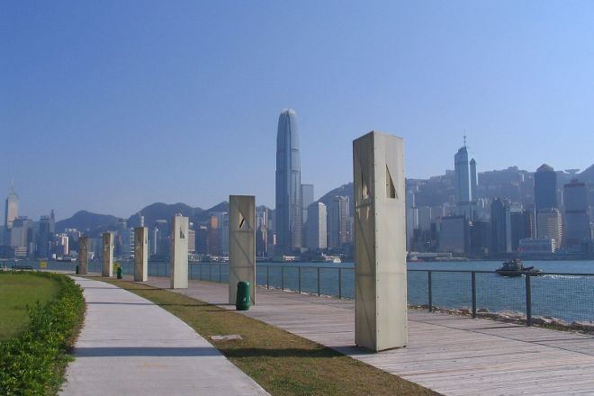 Kowloon West Promenade, Hong Kong, China