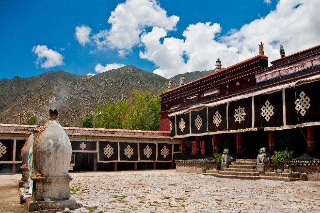 Nechung Monastery and Temple, Lhasa, China
