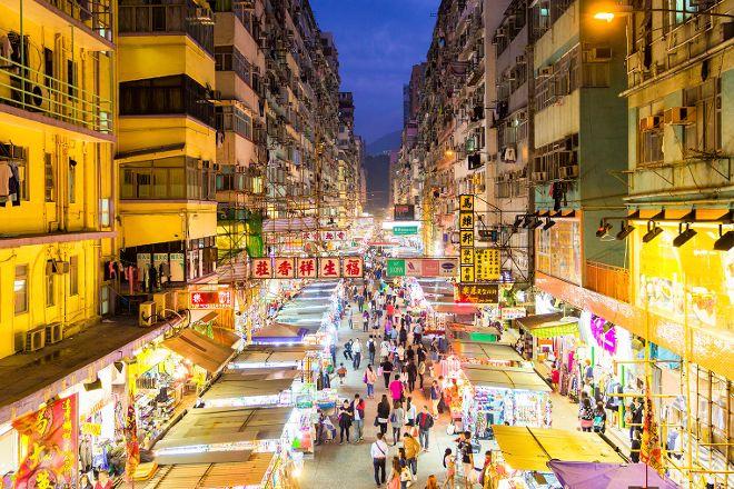 NvRen Jie (YaJieLao Jie), Hong Kong, China