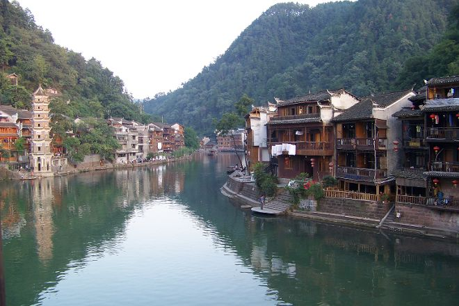 Phoenix East Gate Scenic Area, Fenghuang County, China