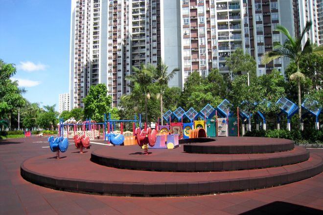 Quarry Bay Park, Hong Kong, China