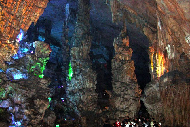 Reed Flute Cave (Ludi Yan), Guilin, China