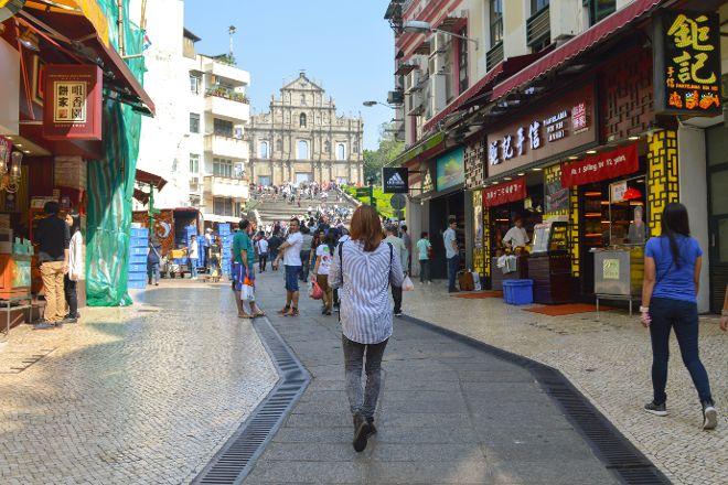 Rua de S. Paulo (Dasanba) Street, Macau, China
