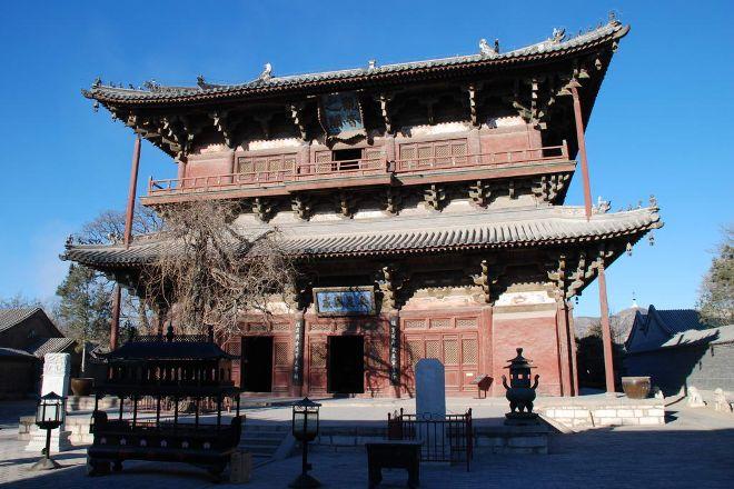 Temple of Solitary Joy (Dule si), Ji County, China