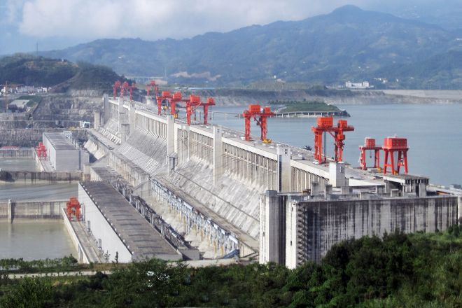 Three Gorges Dam Project, Yichang, China