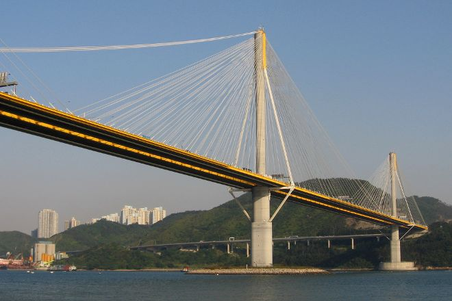 Ting Kau Bridge, Hong Kong, China