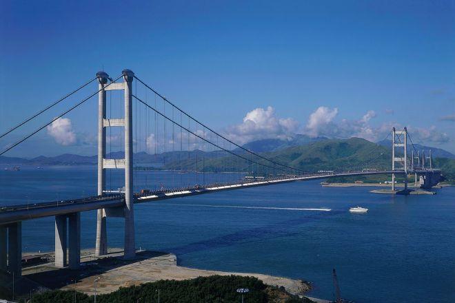Tsing Ma Bridge, Hong Kong, China