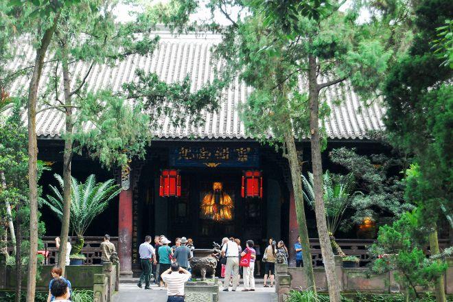 Wuhou Memorial Temple, Chengdu, China