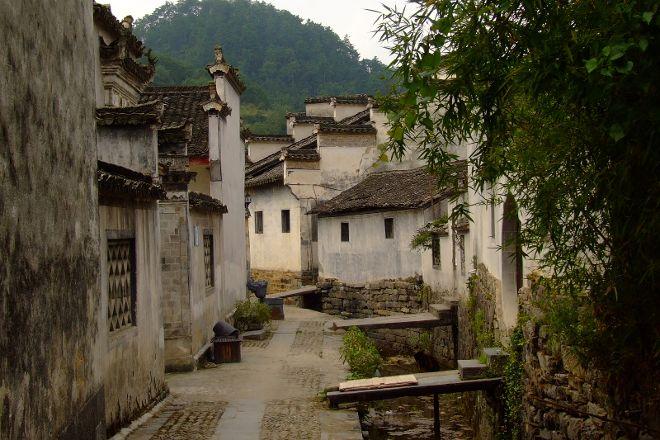 Xidi Ancient Village, She County, China