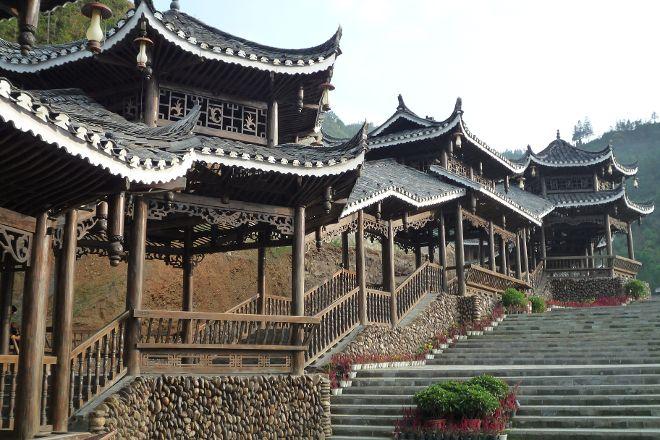 Xijiang Miao Nationality Village, Leishan County, China