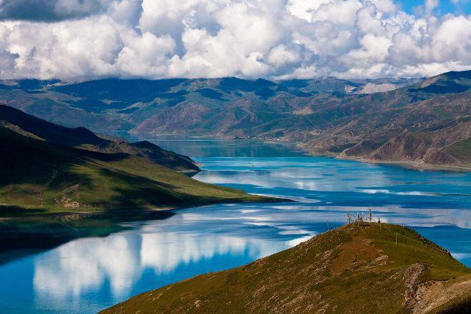 Yamdrok Yumtso Lake, Nagarze County, China