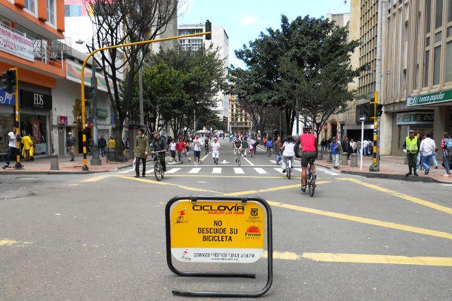 Ciclovia de Bogota, Bogota, Colombia
