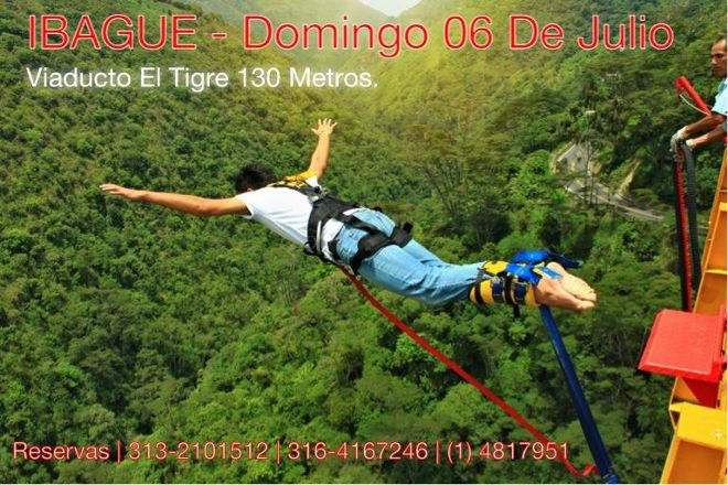Colombia Bungee Jumping, San Gil, Colombia
