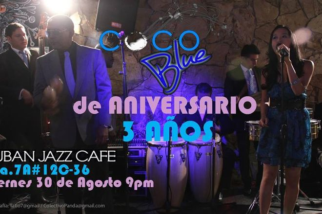 Cuban Jazz Cafe, Bogota, Colombia