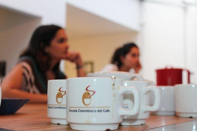 Escuela Cafe, Bogota, Colombia