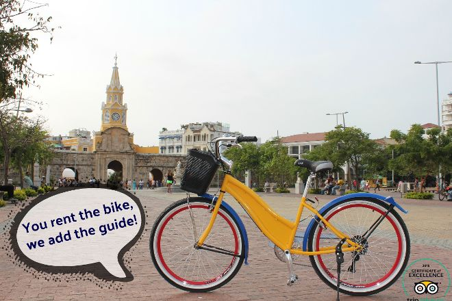 Free Biking Tour Cartagena, Cartagena, Colombia