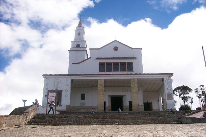 Iglesia Basilica del Senor de Monserrate, Bogota, Colombia